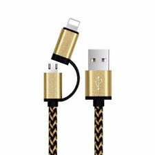 2 in 1cable charger for Apple iPhone and android devices