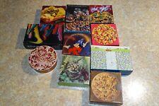 LOT 10 Springbok Mini Puzzles Round Square Complete Disney Cookie Cat Marbles