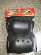 New Razor Multi-Sport Black Elbow/ Knee Pads Guards Youth Ages 8+