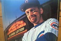 CHICAGO CUBS MARK GRACE WALL POSTER  ILLINOIS LOTTERY PROMOTION 20 YEARS AGO