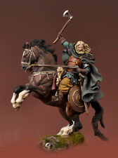 Andrea Miniatures MONTATO viking Warrior 54 mm NON VERNICIATA MODEL KIT