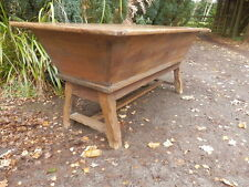 Dough bin, oak, 18th century, antique dining table, coffer, trunk, chest