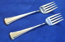 Oneida USA ' Maestro ~ St. Leger ' Set of 2 Salad Forks Stainless Flatware
