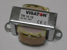 VISATON TR 10.16 100-V-Übertrager für Lautsprecher in ELA-Anlagen #1803
