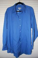 Men's Pronto~uomo Long-Sleeve Dress Shirt Blue 17 1/2 - 32/33 NWT ($49.99)