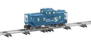 6-48757 lionel American Flyer S Gauge Great Northern Extended Vision Caboose new