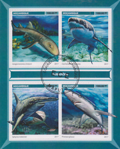 Fish Sharks Mozambique Postmarked 2761