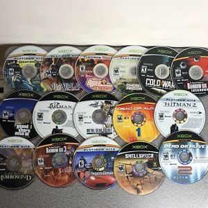 Microsoft XBOX Video Games Lot DISC ONLY - 27 Games Total!