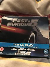 Fast And The Furious Five Steelbook UK import region free