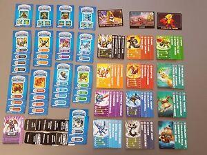 Cartes, codes et autocollants Skylanders Spyro  >>>AU CHOIX<<<