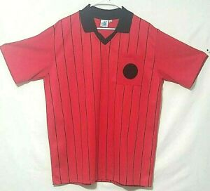 High 5   Soccer Referee      Jersey  Short Sleeve  Red 100% Polyester