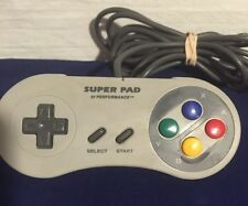 "Super Nintendo SNES Controller Performance Super Pad"" P-032"
