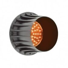 LED AUTOLAMPS AMBER 48 LED TRAFFIC ADVISORY LIGHT 12V TRAFFIC LAMP