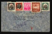 Chile 1930s Better Airmail Cover to Brazil / See Image For Condition - Z16001