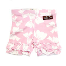 NWOT Matilda Jane Good Hart Sugar Pie Pink Bow Ruffled Shorties Shorts 10