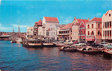 WILLEMSTADT CURACAO N.A. WATERFRONT CHROME POSTCARD