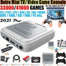 Video Game Console Arcade Kids Retro Game Emulator Pre-install Games HD 4K HDMI