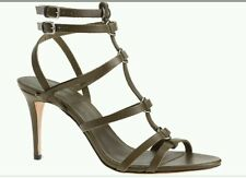 SOLD OUT JCrew Size 7 Ringed Gladiator High Heels Leather Sandals Womens C6880