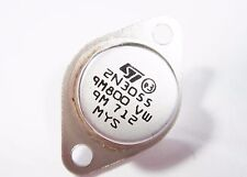 2N3055 POWER Transistor Si NPN 70V 15A 115W hFE:70 (TO3) #14T31#