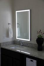 LED Illuminated Mirror with Aluminum Frame (Lighted Image)(11)