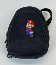 Nintendo Super Mario VTG Gameboy DS/3DS Bag Black Case Mini Backpack