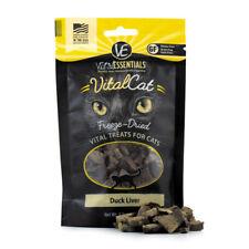 Vital Essentials Vital Cat Freeze-Dried Duck Liver Treats for Cats 0.9 ounce