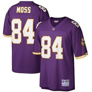 Mitchell & Ness Randy Moss Purple Minnesota Vikings Player Vintage Jersey Small