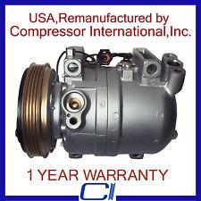 1998-1999 Nissan Altima 2.4L OEM Reman A/C Compressor