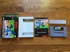 Mega Man Soccer Super Nintendo SNES COMPLETE Game+Box+Manual Collector's Quality