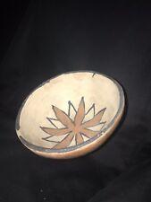1940's Santo Domingo  POLYCHROME Pottery Bowl