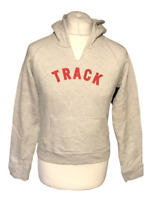 Abercrombie & Fitch Women's Gym Hoodie Jumper Grey Large Cotton Blend