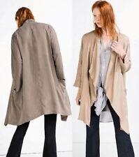Zara Linen Blend Coats & Jackets for Women