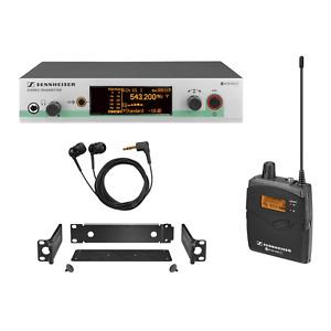 Sennheiser EW 300 IEM G3 GB Wireless in ear monitoring system B stock used