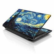"Starry Night Laptop Sticker Decal Skin Cover Protector For 13"" 14""15.6"" Notebook"