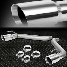 """FOR 16-18 CHEVY CAMARO 2.0L 3.6L AXLE CAT BACK EXHAUST SYSTEM W/4""""OD MUFFLER TIP"""