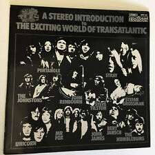 Introduction to Exciting World of Transatlantic LP 28703151st UK & PosterVG+/VG+