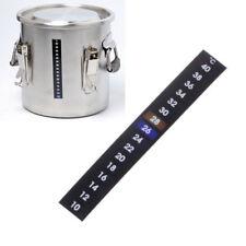 1 Pcs Strip Temperature Thermometer Fish tank Sticker Adhesive Homebrew Beer DIY