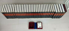 34 Bände - Die große Bertelsmann Lexikothek, Enzyklopädie, Leder, Phonobox