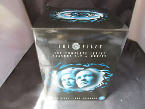 DVD Boxset The X Files Complete Series Seasons 1-9 1 2 3 4 5 6 7 8 9 and Movies
