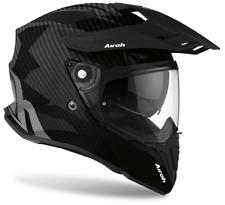 Casco integrale moto offroad enduro motard Airoh Commander full carbon helmet