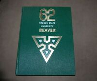 1962 Oregon State University College Beavers Yearbook OSU