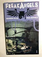FREAK ANGELS book one (2008) Avatar Comics graphic novel VG