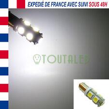 AMPOULE LAMPE 12V BA9S T4W 9 LED 5050 BLANC FROID INTERIEUR PLAFONNIER TUNING