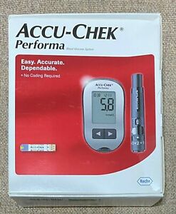 ACCU-CHEK PERFORMA BLOOD GLUCOSE SYSTEM FULL KIT NEW IN THE BOX STILL SEALED
