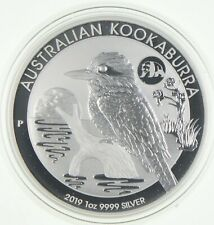 2019 1OZ Kookaburra with RARE Panda Privy FROM MINT SEALED ROLL 8000 minted *942