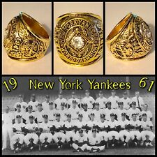 New York Yankees 1961 Championship Ring Size 10.5