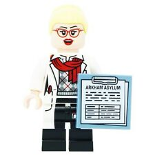 LEGO  Batman Movie DR. Harleen  Quinzel Minifigure+ Clipboard from set 70912 NEW