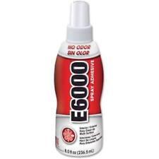 E6000 Spray Adhesive 8 oz Permanent Glue Jewelry Craft No Odor Multi Purpose