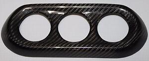 Mitsubishi Lancer Evolution / Evo X A/C Control Cover - 100% Carbon Fiber