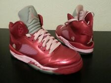 Jordan High (GS) Roue/Pink Trainers Size 4.5 UK